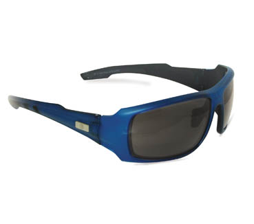 Royal Blue Glasses Frames : Z Series Safety Glasses- Royal Blue Frame - Work Outfitters